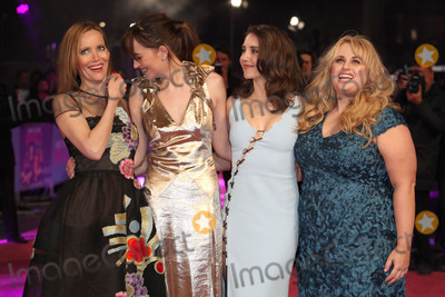 Alison Brie Photo - Leslie Mann Dakota Johnson Alison Brie and Rebel Wilson arriving for the UK premiere of How to Be Single Vue Leicester Square London 09022016 Picture by Kat Manders  Featureflash