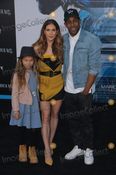 Allison Holker Photo - Westlie Fowler Allison Holker Stephen tWitch Boss 03222017 Power Rangers Premiere held at the Westwood Village Theater in Westwood CA Photo by Julian Blythe  HollywoodNewsWireco