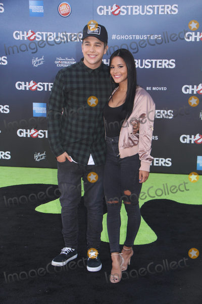 Austine Mahone Photo - Austin Mahone 07092016 The Los Angeles Premiere of gGhostbustersh held at the TCL Chinese Theatre in Hollywood CA Photo by Izumi Hasegawa  HollywoodNewsWireco