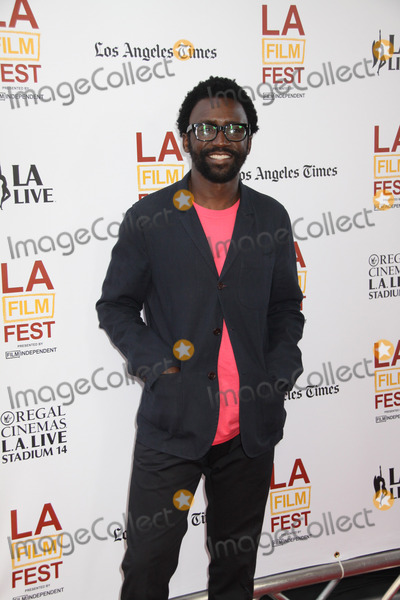 ANTHONY OKUNGBOWA Photo - Anthony Okungbowa 06112014 20th Anniversary Los Angeles Film Festival Opening Night The North American Premiere of Snowpiercer held at The Regal Cinemas LA Live Stadium 14 in Los Angeles CA Photo by Izumi Hasegawa  HollywoodNewsWirenet