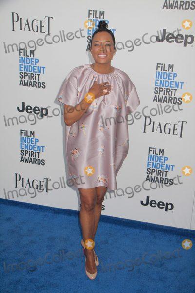 Aisha Tyler Photo - Aisha Tyler 2252017 2017 Film Independent Spirit Awards held at the Santa Monica Pier in Santa Monica CA Photo by Julian Blythe  HollywoodNewsWireco