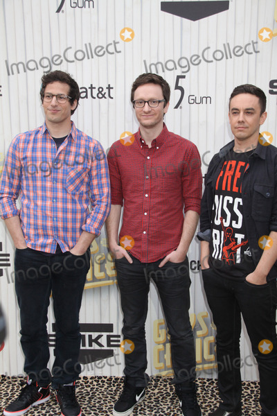 Akiva Schaffer Photo - Andy Samberg Akiva Schaffer Jorma Taccone 06082013 Spike TVs Guys Choice 2013 held at Sony Pictures Studios in Culver City CA Photo by Izumi Hasegawa  HollywoodNewsWirenet
