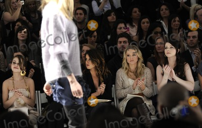 Alexis Dziena Photo - (L-R) Actress Alexis Dziena singer Shenae Grimes with actresses Kristen Bell and Michelle Trachtenberg pictured during the Rebecca Taylor Fall 2010 Fashion Show during Mercedes-Benz Fashion Week at The Salon at Bryant Park in New York NY on February 14th 2010 (Pictured Alexis Dziena Shenae Grimes Kristen Bell Michelle Trachtenberg)
