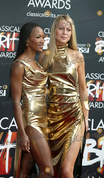 Amici Forever Photo - London The Girls from AMICI FOREVER arriving for the Classical Brit Awards at the Royal Albert HallJADE ADAMSLANDMARK MEDIA