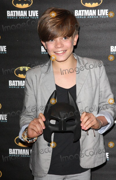 Ronan Parke Photo - London UK Ronan Parke at the Opening Night of Batman Live at the 02 Arena 24th August 2011Keith MayhewLandmark Media