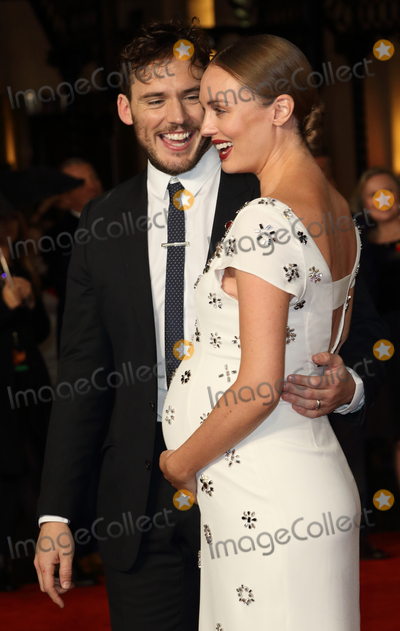 Sam Claflin Photo - LondonUK Sam Claflin and Laura Haddock at the The Hunger Games - Mockingjay Part 2 UK Premiere of The Hunger Games - Mockingjay Part 2 at the Odeon Leicester Square 5th November 2015Ref LMK73-58072-061115Keith MayhewLandmark Media WWWLMKMEDIACOM
