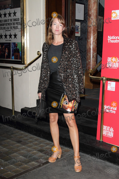 Anna Maxwell-Martin Photo - London UK  Anna Maxwell-Martin at the Opening Night of Great Britain at the Theatre Royal Haymarket London 26th September 2014 RefLMK73-49640-270914Keith MayhewLandmark MediaWWWLMKMEDIACOM
