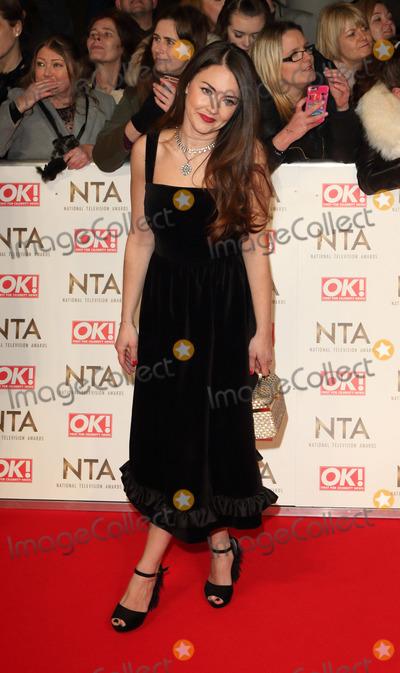 Lacey Turner Photo - London UK Lacey Turner at National Television Awards 2017 at O2 Peninsula Square London on January 25th 2017Ref LMK73 -61562-260117Keith MayhewLandmark Media WWWLMKMEDIACOM