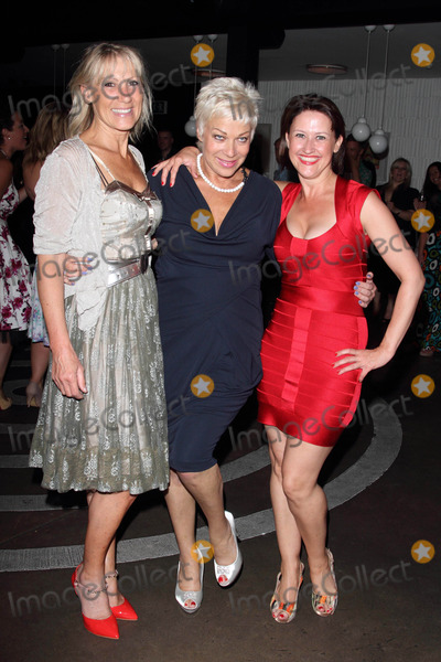 Angela Lonsdale Photo - London UK Ingrid Tarrant Denise Welch and Angela Lonsdale and Magician at the Welch Morgan Locations launch party at The Collection Brompton Road 28th June 2012Keith MayhewLandmark Media
