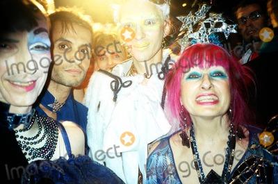 Andrew Logan Photo - London Andrew Logan Zandra Rhodes Winner and his designer  at Alternative Miss World 200422 November 2004Morgan ODonovanLandmark Media