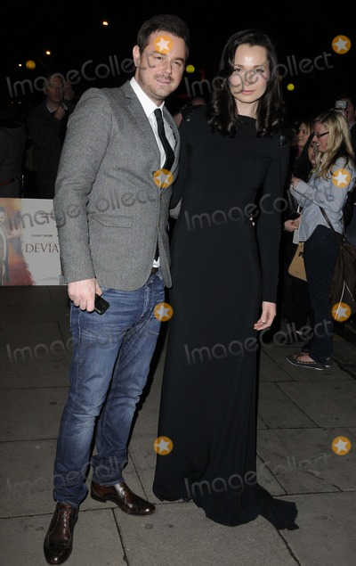 Anna Walton Photo - London UK Danny Dyer  Anna Walton at UK the Premiere of Deviation at the Odeon Covent Garden London 23rd February 2012Can NguyenLandmark Media