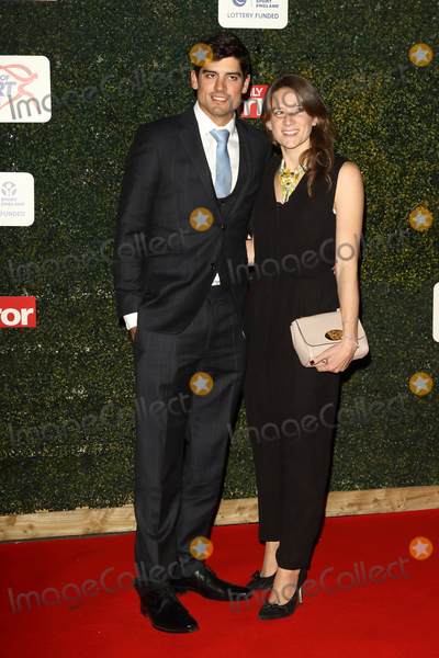Alistair Cooke Photo - London UK Alistair Cook and Alice Cook at Daily Mirror Pride of Sport Awards at the Grosvenor House Hotel Park Lane London on November 25th 2014Ref LMK73-58699-261115Supplied by LMKMEDIACOMKeith MayhewLandmark Media WWWLMKMEDIACOM