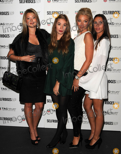 Anouska Beckwith Photo - LondonUK  Holly Valance  Anouska Beckwith Tamara Beckwith  and guest   at the 150th anniversary of Tag Heuer The event saw the arrival of a Tag Heuer sponsored  electric powered Tesla super car which is currently touring the world This is the fartheset distance any electric car has done 15th September 2010SydLandmark Media