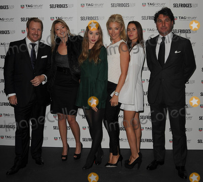 Anouska Beckwith Photo - LondonUK  Holly Valance(2nd L)   Anouska Beckwith (3rd Left) Tamara Beckwith  (3rd R) Georgio Veroni  at the 150th anniversary of Tag Heuer The event saw the arrival of a Tag Heuer sponsored  electric powered Tesla super car which is currently touring the world This is the fartheset distance any electric car has done 15th September 2010SydLandmark Media