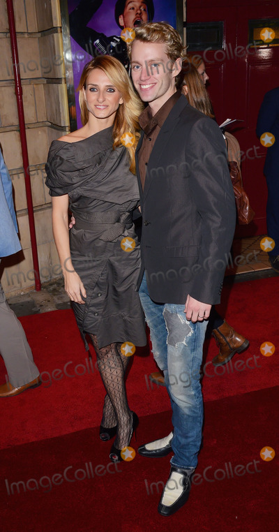Aliona Vilani Photo - London UK Aliona Vilani and Trent Whiddon at the Shaftesbury Theatre London on Thursday 23rd October 2014  Ref LMK392 -49901-241014Vivienne VincentLandmark Media WWWLMKMEDIACOM