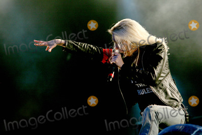 Arch Enemy Photo - Catton Hall Derbyshire UK Arch Enemy perform live at Bloodstock Open Air 2009 at Catton Hall Arch Enemy are Angela Gossow Michael Amott Christopher Amott Sharlee DAngelo and Daniel Erlandsson 14th August 2009Taya UddinLandmark Media