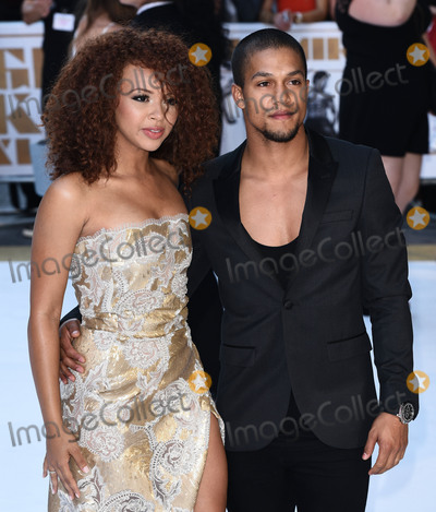 Alexis Jordan Photo - London UKAlexis Jordan and Luke Broadlick at Magic Mike XXL European Premiere at Vue West End Leicester Square London on Tuesday 30 June 2015Ref LMK392 -51474-020715Vivienne VincentLandmark MediaWWWLMKMEDIACOM
