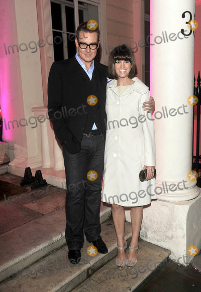 Jimmy Choo Photo - London UK  William Vintage  and  Dawn Porter    at the  Jimmy Choo hosts dinner in honour of artist Rob Pruitt at No 35 Belgrave Square London 11th October 2012 Keith MayhewLandmark Media