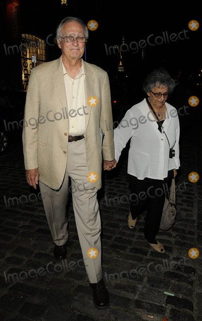 Alan Alda Photo - London UK Alan Alda (MASH TV series) and wife Arlene  after watching the play Luise Miller at the Donmar Warehouse in London Feltham Street 29th July 2011 Can NguyenLandmark Media