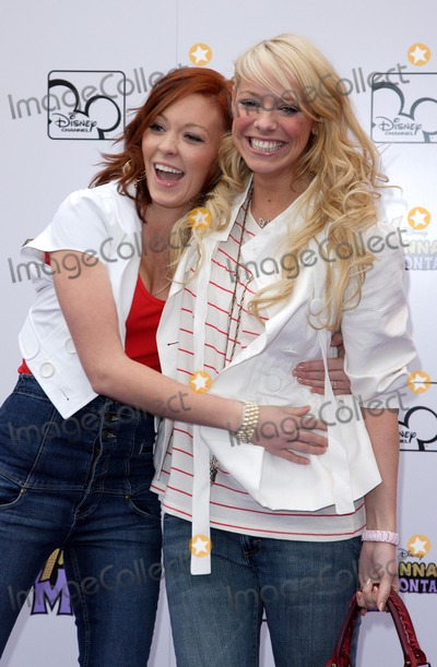 Hannah Montana Photo - London UK Natasha Hamilton and Liz McClarnon at the Hannah Montana Live In London One off TV Special held at Koko in Camden 28th March 2007Keith MayhewLandmark Media