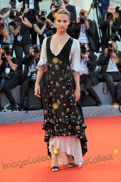 Alicia Vikander Photo - Venice Italy  Alicia Vikander    at The Light Between Oceans Premiere during the 73rd Venice Film Festival  1st September 2016 RefLMK200-61333-010916Landmark Media WWWLMKMEDIACOM