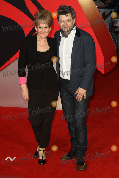 Andy Serkis Photo - London UK Andy Serkis and Lorraine Ashbourne at European Premiere of Batman v Superman - the Dawn of Justice Odeon Leicester Square London on March 22nd 2016Ref LMK73-60105-230316Keith MayhewLandmark Media WWWLMKMEDIACOM