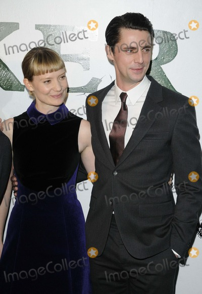 Mia Wasikowska Photo - London UK Mia Wasikowska and Matthew Goode at the Stoker gala film screening held at the Curzon Soho cinema Shaftesbury Avenue 17th February 2013Can NguyenLandmark Media