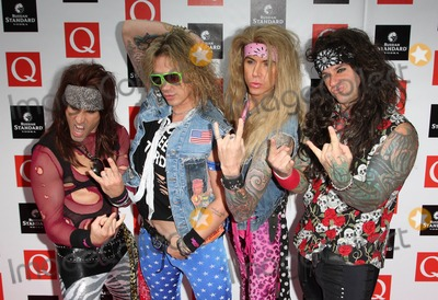 Steel Panther Photo - LondonUK  Steel Panther   at the Q Awards  Grosvenor House Hotel London 26th  October 2009   Keith MayhewLandmark Media