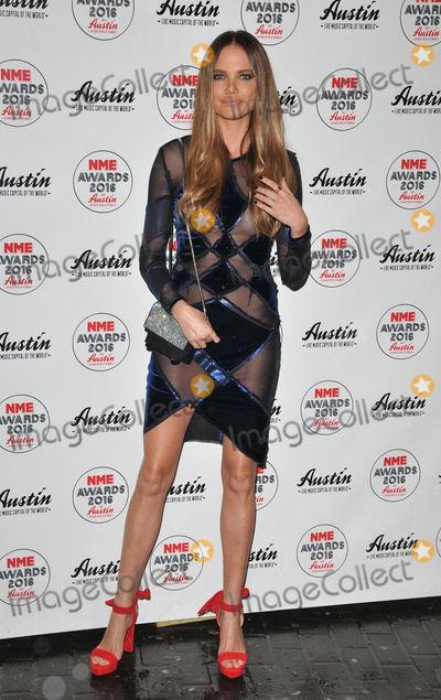 Alicia Rountree Photo - London UK Alicia Rountree at the NME Awards 2016 with Austin Texas O2 Academy Brixton Stockwell Road London UK on Wednesday 17 February 2016Ref LMK315-60003-180216CAN NGUYENLandmark Media WWWLMKMEDIACOM