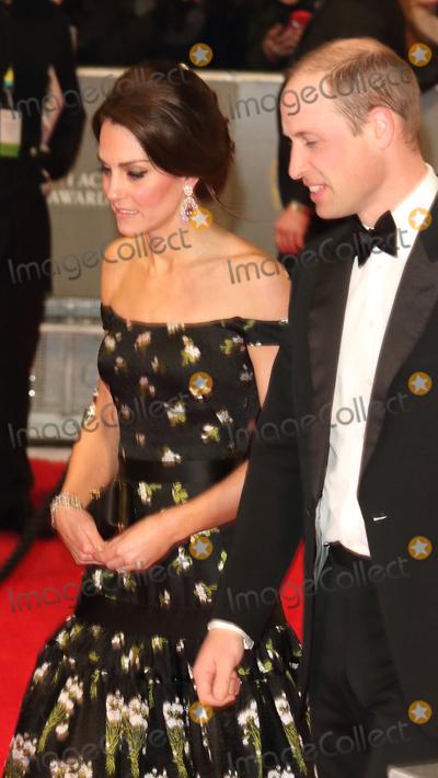 Prince William Photo - London UK Duke and Duchess of Cambridge ( Prince William and Kate Middleton ) at the EE British Acadamy Film Awards (BAFTAs) at The Royal Albert Hall on Sunday 12 February 2017Ref  LMK73 -61672-130217Keith MayhewLandmark Media WWWLMKMEDIACOM