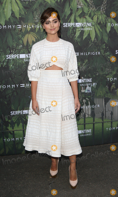 Jenna Coleman Photo - London UK  Jenna Coleman   at The Serpentine Gallery Summer Party at Kensington Gardens London 6th July 2016 Ref LMK73-60819-070716Keith MayhewLandmark Media WWWLMKMEDIACOM