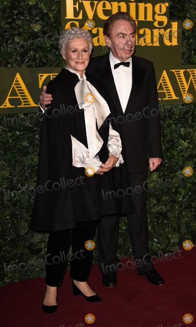 Andrew Lloyd Webber Photo - London UK Glenn Close and Sir Andrew Lloyd Webber at The Evening Standard Theatre Awards at The Old Vic The Cut London on Sunday 13 November 2016Ref LMK392-62745-141116Vivienne VincentLandmark Media WWWLMKMEDIACOM
