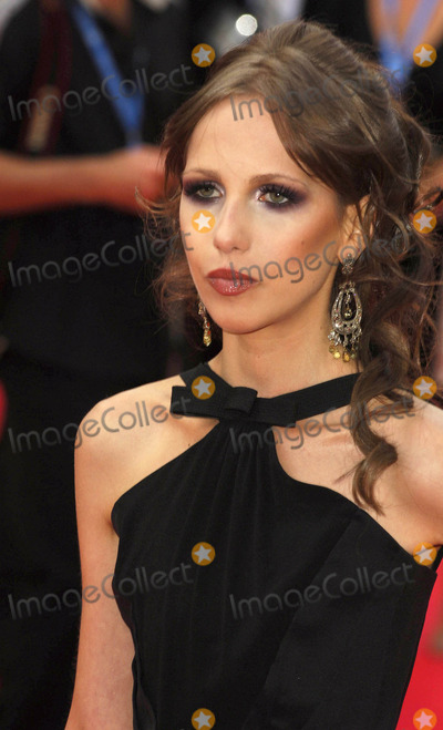 Allegra Versace Photo - London UK Allegra Versace at the European Premiere of The Dark Knight at the Odeon Leicester Square central London UK21st July 2008Ali KadinskyLandmark Media2008