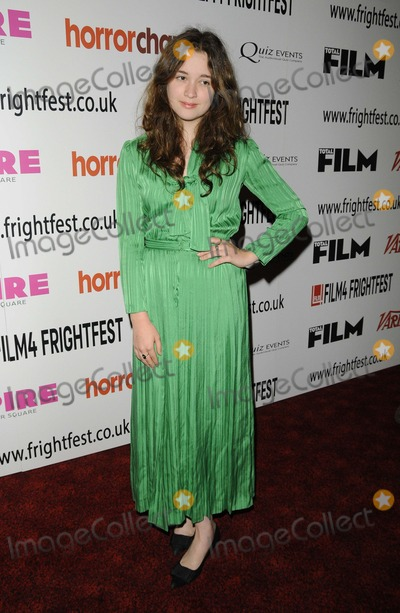 Alice Englert Photo - London UK   Alice Englert  at  the In Fear UK film premiere Film4 FrightFest film festival day 4 Empire cinema Leicester Square London 25th August 2013 RefLMK315-45065-260813 Can NguyenLandmark MediaWWWLMKMEDIACOM