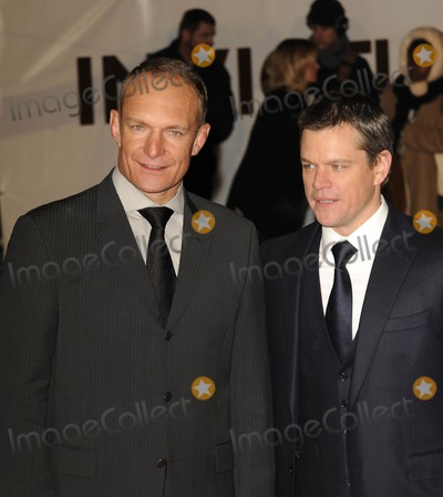Francois Pienaar Photo - London UK  Francois Pienaar  and Matt Damon   at the UK premiere of the film Invictus held at the Odeon West End in Leicester Square 31st January 2010 Ref   SYDLandmark Media