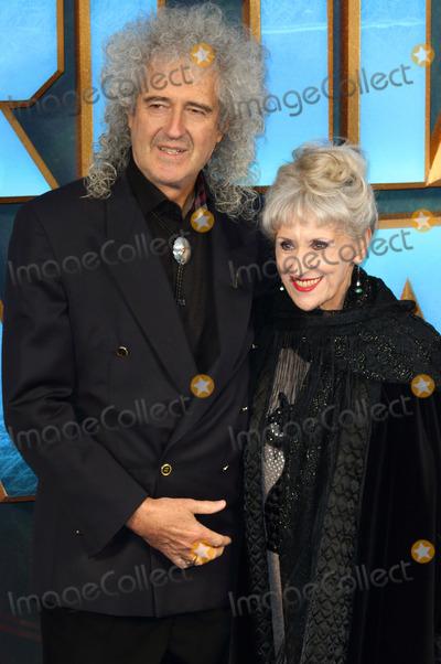 Anita Dobson Photo - London UK Brian May and Anita Dobson at Guardians of The Galaxy Vol 2 - European gala premiere at Eventim Apolllo Hammersmith London on April 24th 2017Ref LMK73-J229-250417Keith MayhewLandmark MediaWWWLMKMEDIACOM