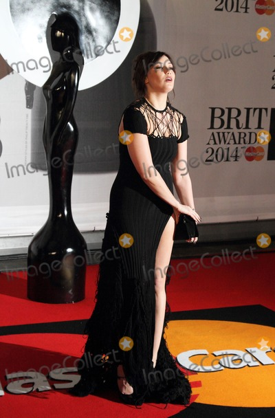 Daisy Lowe Photo - London UK Daisy Lowe at The BRIT Awards with MasterCard 2014 Red Carpet arrivals at the 02 Arena London on February 19th 2014Ref LMK73-47709-210214Keith MayhewLandmark MediaWWWLMKMEDIACOM