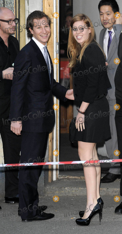 Dave Clark Photo - London UK Dave Clarke and HRH Princess Beatrice at the A Night out with the Millennium Network charity evening to raise funds for The Clinton Foundation  The Reuben Foundation held at the Old Vic Tunnels Waterloo 22nd May 2012Can NguyenLandmark Media