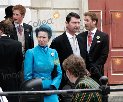 William Prince Photo - Windsor England Prince William Prince Harry and Princess Anne at the wedding of Prince Charles (Prince of Wales) to Camilla Parker-Bowles held at the Guildhall9 April 2005Lisle BrittainLandmark Media