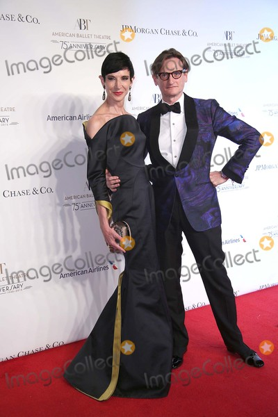 Amy Fine Collins Photo - Amy Fine Collins and Hamish Bowles Attend the American Ballet Theatre 75th Anniversary Fall Gala October21 2015 Photos by Sonia Moskowitz Globe Photos Inc