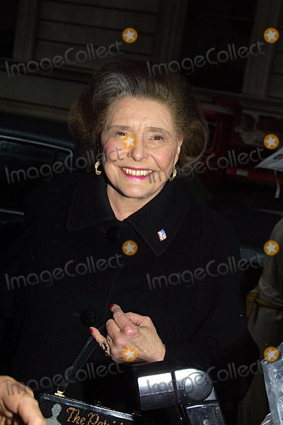 Patricia Neal Photo - Liza Minnelli Bridal Shower at Denise Richs Apartment NYC 031302 Photo by John BarrettGlobe Photos Inc 2002 Patricia Oneal