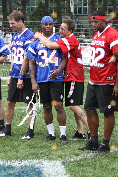 Josh Charles Photo - Ryan Mcpartlinherschel Walkerjosh Charlesmichael Strahan at Madden Nfl 12 Pigskin Pro-am Game in Bryant Park 7-27-2011 Photo by John BarrettGlobe Photos Inc