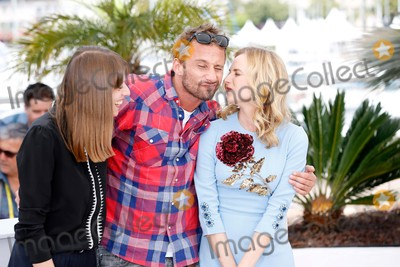 Alice Winocour Photo - Alice Winocour Matthias Schoenaerts Diane Kruger Photo Call Maryland - Disorder Cannes Film Festival 2015 Cannes France May 16 2015 Roger Harvey
