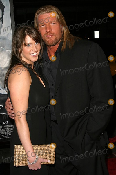 Stephanie McMahon Photo - Blade Trinity Graumans Chinese Theatre Hollywood CA 12-07-2004 Photo Ed GelleregiGlobe Photos Inc 2004 Triple H and Stephanie Mcmahon