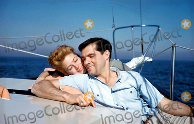 John Gavin Photo - John Gavin and Linda Cristan Photo Bydon Ornitz-Globe Photos Inc