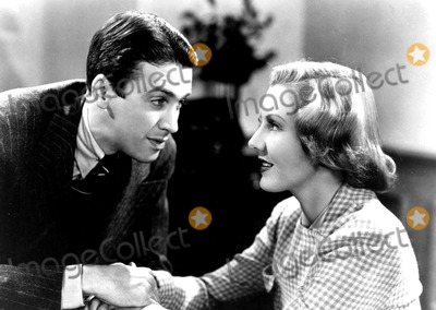 James Stewart Photo - James Stewart and Jean Arthur in You Cant Take It with You 1938 Supplied by RangefindersGlobe Photos Inc