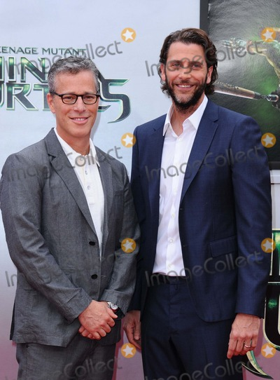 Andrew Form Photo - Brad Fuller Andrew Form attending the Los Angeles Premiere of Teenage Mutant Ninja Turtles Held at the Regency Village Theater in Westwood California on August 3 2014 Photo by D Long- Globe Photos Inc