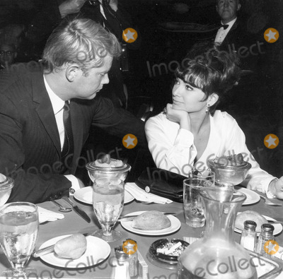 Troy Donahue Photo - Suzanne Pleshette and Troy Donahue 1964 Photo by Globe Photos