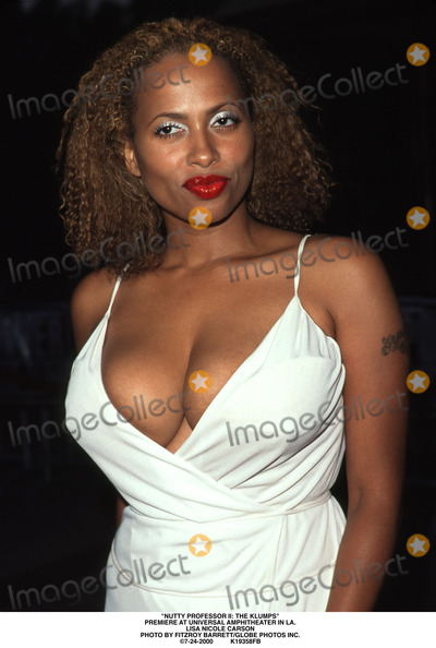 Lisa Nicole Carson Photo - Nutty Professor Ii the Klumps Premiere at Universal Amphitheater in LA Lisa Nicole Carson Photo by Fitzroy BarrettGlobe Photos Inc 7-24-2000