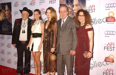 Tommy Lee Jones Photo - Tommy Lee Jones  Wife  Hilary Swankbarry Corbin  Grace Gummer Attend the Screening of the Houseman at the Dolby Theater in Hollywoodca on November 112014 Photo by Phil Roach-ipol-Globe Photos